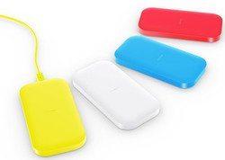 Qi Ladegerät von Nokia in versch. Farben