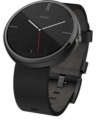 Moto 360 Smartwatch mit Qi-Standard