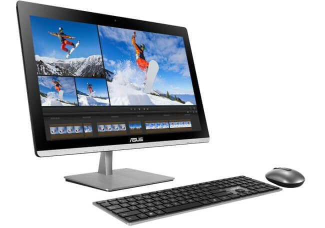 Asus ET2323 All-In-One-PC mit Qi-Ladestation
