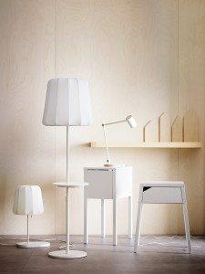 Qi Möbel und Qi Lampen von IKEA