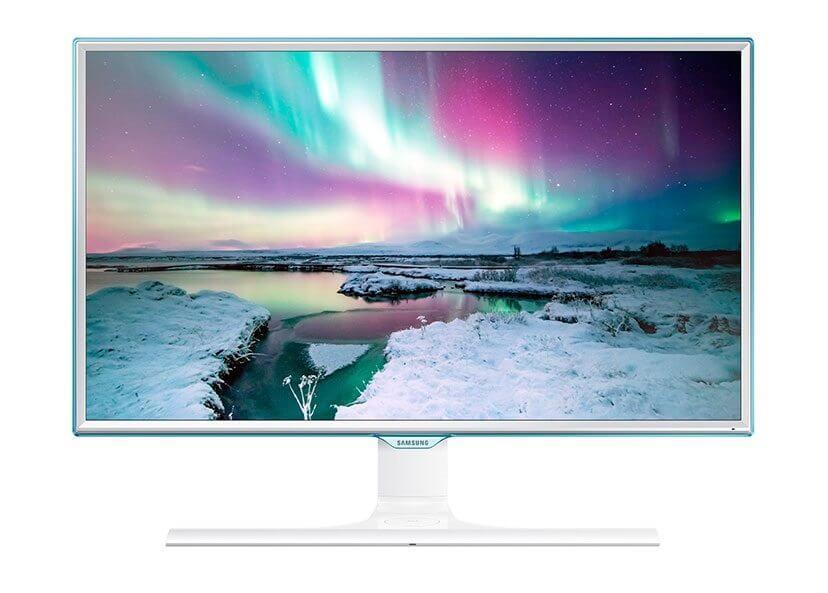 Samsung Qi-Monitor mit kabelloser Ladestation