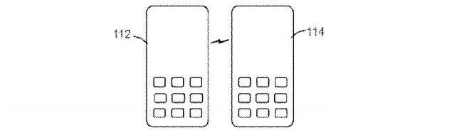 Sony kabelloses Laden von Handy zu Handy