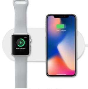 Apple AirPower Alternative Sararoom 2 in 1 Wireless Ladegerät