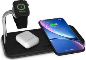 AirPower Alternative 3 fach Qi Ladegerät + Apple Watch