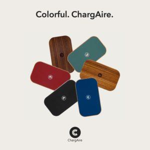 ChargAire Kabellose Ladestationen aus Holz