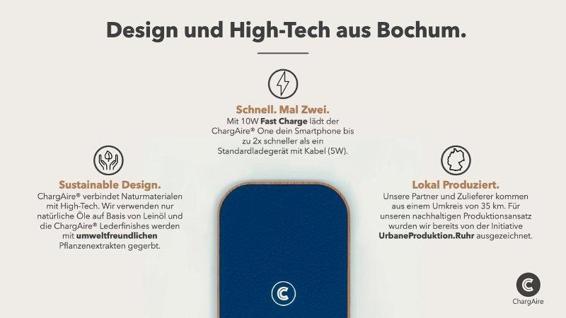 ChargAire - Design und High-Tech aus Bochum