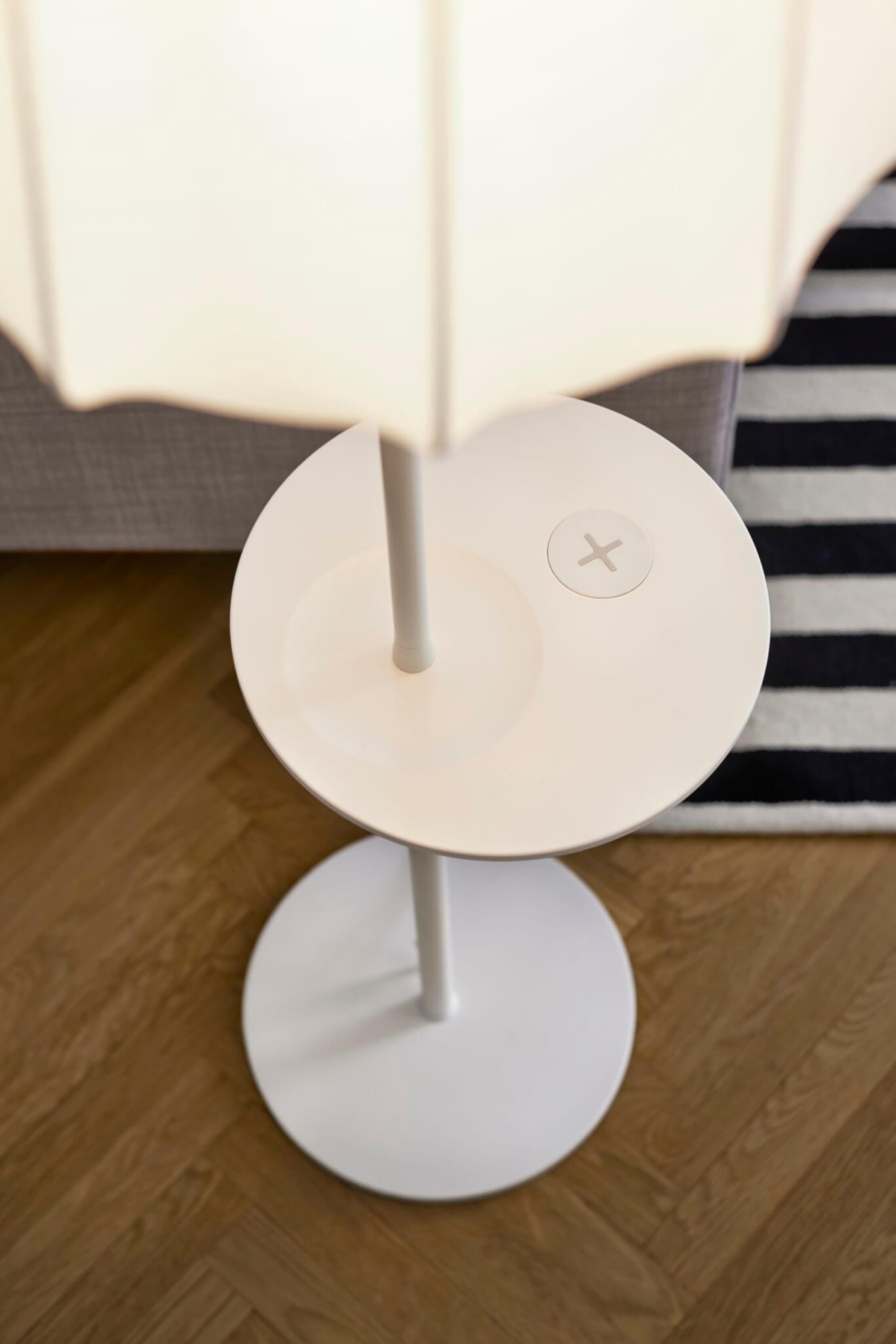 ikea lampen und tische mit qi ladeger t ab april. Black Bedroom Furniture Sets. Home Design Ideas
