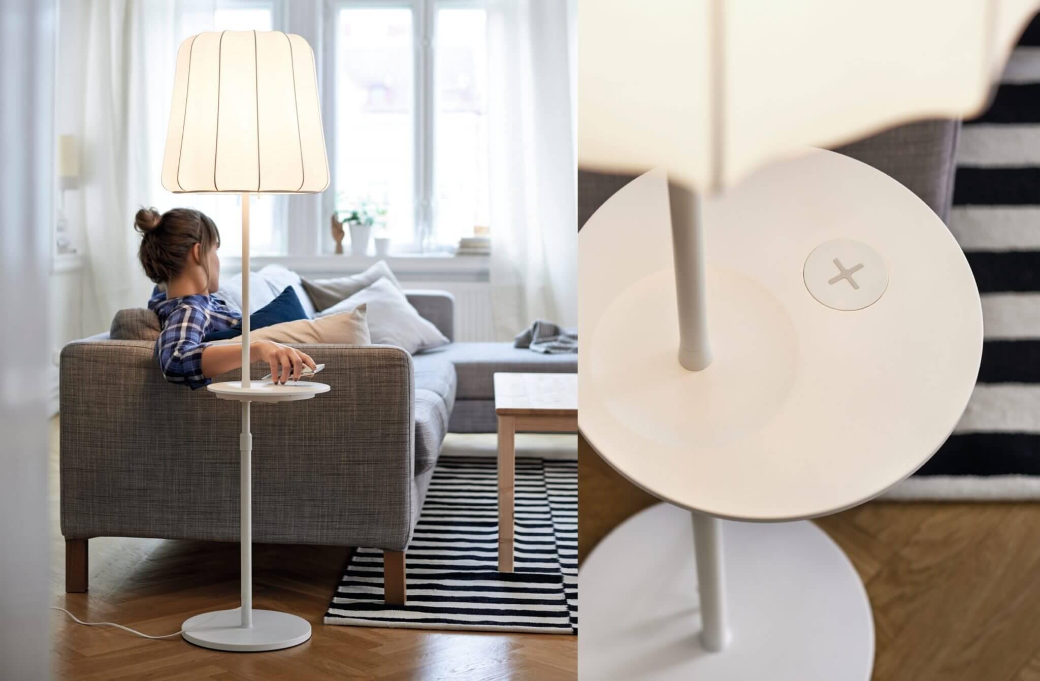 Lampen Ikea Hang : Ikea lampen und tische mit qi ladegerät ab april
