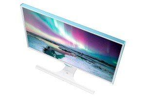 Samsung PC-Monitor mit Qi-Ladestation